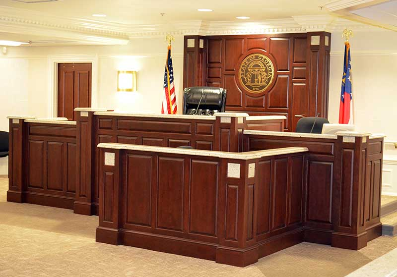 Colquitt County Courtroom