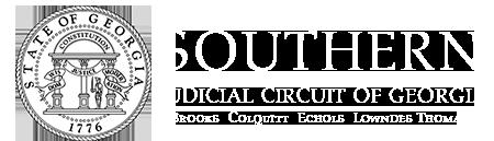 Georgia's Southern Judicial Circuit Logo